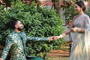 DeepVeer wedding: Bride-to-be Deepika gets emotional as Ranveer goes down on knees to seek her hand