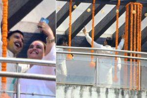 Ranveer Singh kicks off pre-wedding celebrations with swag