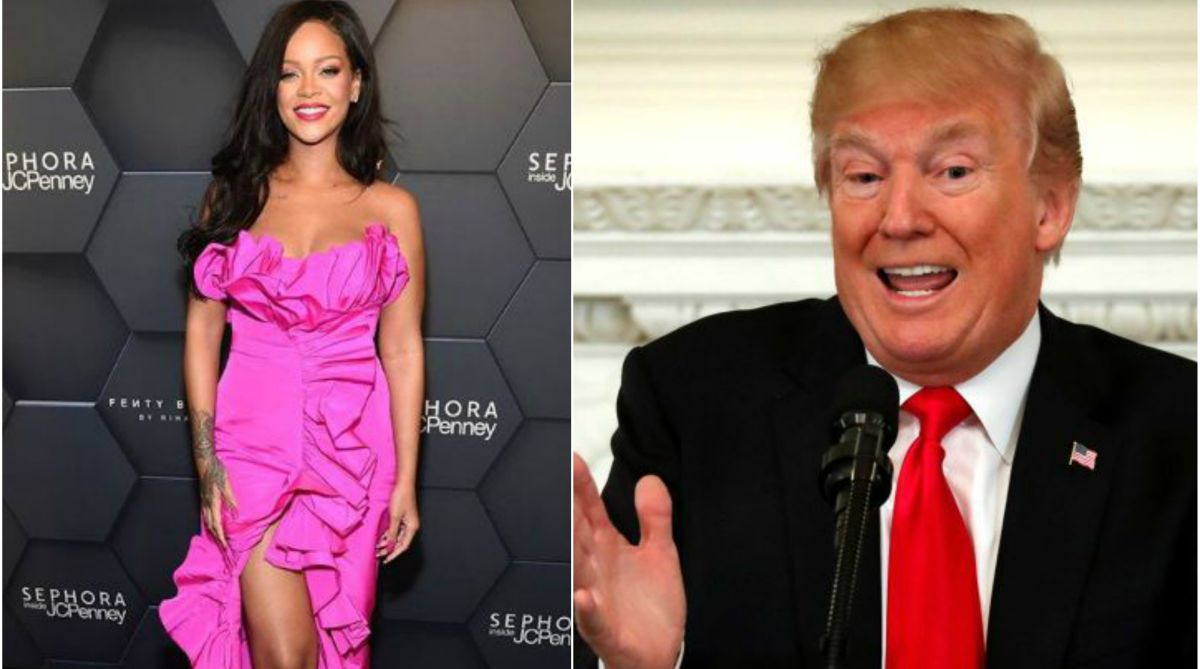 Now Rihanna forbids Trump to use her songs at rallies
