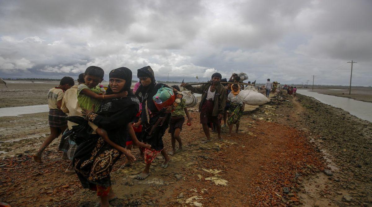 Bangladesh, Rohingya refugees, Rakhine state, human rights, Myanmar, refugees