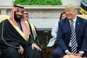 'Steadfast partner': Trump defends Saudi on Khashoggi killing, undermines CIA