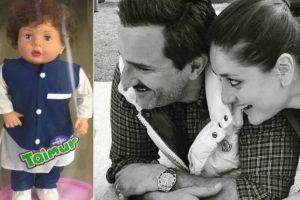 Saif Ali Khan and Kareena Kapoor react to Taimur doll