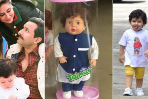 Wait, what? Taimur Ali Khan has a toy made on him in Kerala