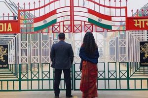 Bharat first look: Salman Khan and Katrina Kaif at Wagah Border