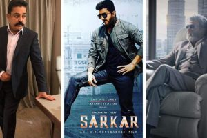 Rajnikanth, Kamal Haasan speak in support of Vijay's Sarkar