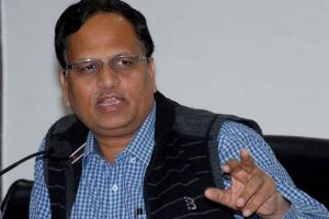 Modi wants to destroy unauthorized colonies: Satyendar Jain