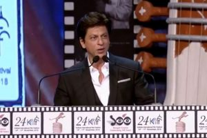 Shah Rukh Khan regrets not getting a national film award, screens Zero trailer at KIFF