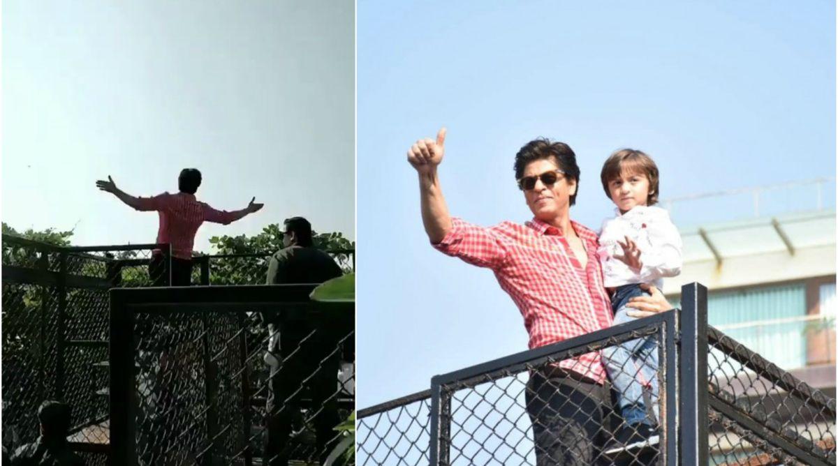 Shah Rukh Khan, AbRam, Happy Birthday Shah Rukh Khan