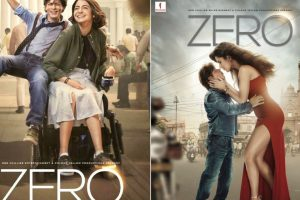 Zero posters: Looks of Shah Rukh Khan, Anushka Sharma, Katrina Kaif will leave you intrigued