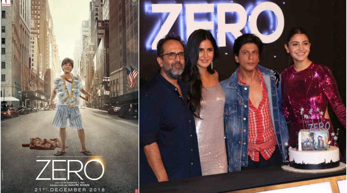 Shah Rukh Khan, Katrina Kaif, Anushka Sharma, Aanand L Rai, Zero