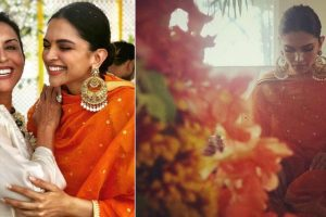 Pre-wedding celebrations begin for Deepika Padukone and Ranveer Singh