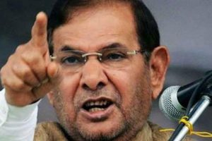 Dissolution of J-K assembly amounts to 'killing' of democracy: Sharad Yadav