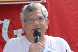 BJP seeks votes in Lord Ram's name, needs to be stopped: Sitaram Yechury
