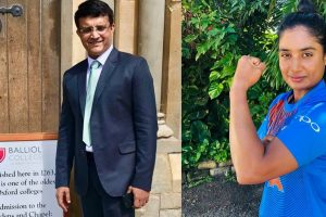 'Welcome to the group': Sourav Ganguly on Mithali Raj exclusion from team