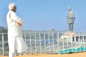 Reflections on the Statue of Unity