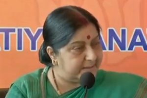 Won't respond to Pak invite to attend SAARC Summit: Sushma Swaraj