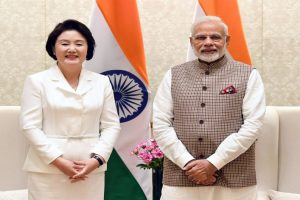 South Korean First Lady arrives in UP, to be chief guest at 'Deepotsav' event
