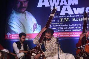 TM Krishna sings in Delhi, celebrates 'multi-cultural India'