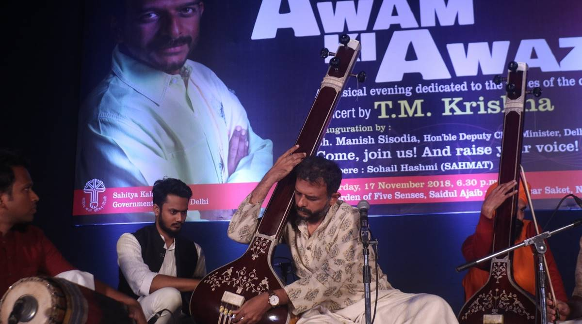 TM Krishna, TM Krishna concert, TM Krishna interview, TM Krishna performance, AAI tweet, Carnatic music