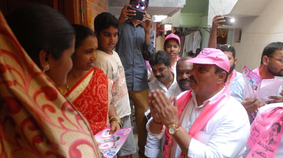 Telangana Elections 2018, Telangana campaign trail, Assembly Elections 2018, 2018 Assembly elections, G JagadishReddy, Suryapet, TRS, Telangana RashtraSamithi, TDP-Congressalliance, Telangana Assembly elections, Telangana polls