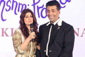 Twinkle is unique in so many ways: Karan Johar