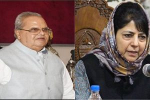 Mehbooba asks Governor to rollback order turning J-K Bank into public sector bank