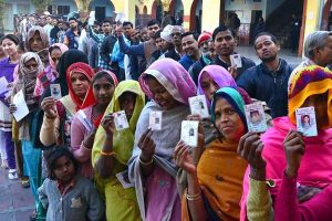 MP polls | 74.6% polling recorded amid reports of violence, faulty EVMs, VVPATs