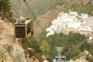 Rescue drill conducted at Vaishno devi's coming up cable car project