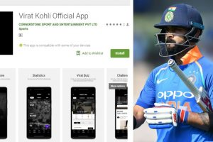 Watch | Virat Kohli launches his own app