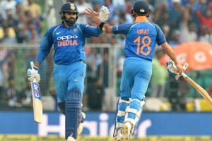Rohit Sharma disagrees with Virat Kohli's 'weird' suggestion to rest key pacers for IPL 2019