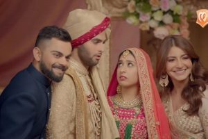 Watch: Virat Kohli-Anushka Sharma win hearts with this post-marriage Manyavar ad