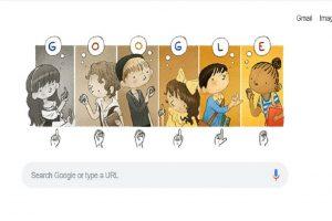 Google doodle honours Charles-Michel de l'Épée