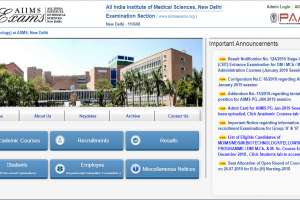 AIIMS PG exam 2019: Admit card for January session entrance exam released on aiimsexams.org; download now