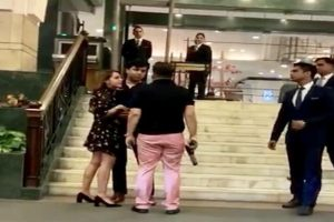 Ashish Pandey arrested for brandishing gun outside hotel gets bail