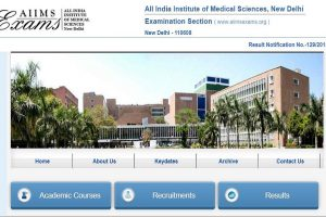 AIIMS PG January 2019 session result declared | Check now at www.aiimsexams.org