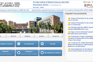 AIIMS MBBS 2019: Basic registration process to start from November 30 on aiimsexams.org