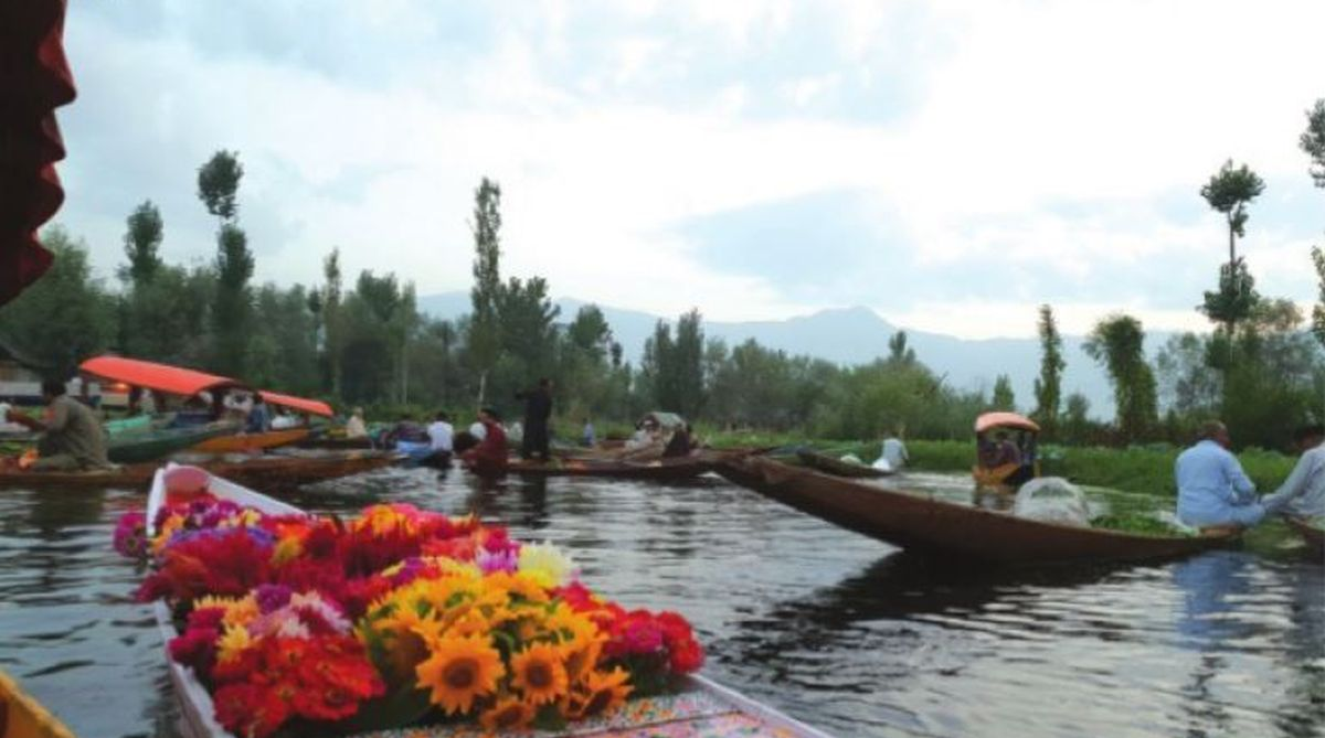 Kashmir, Dal lake, Srinagar, Bollywood, shikara ride, Azaan, market on water, floating market