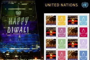 UN issues diya stamps to celebrate Diwali