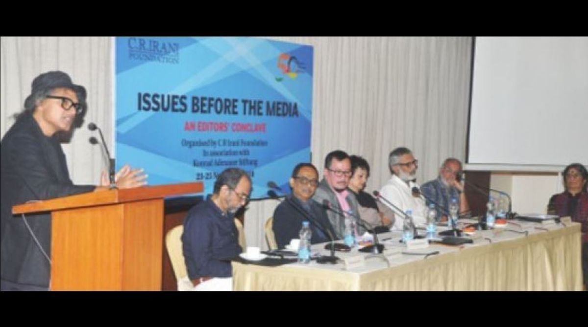 10th Editors' Conclave,#MeToomovement,CR Irani Foundation,Tuktuk Ghosh,MJ Akbar,Seema Mustafa,Raj Kamal Jha,Krishna Prasad,NUJS, sexual harassment