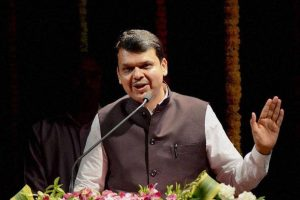 Don't be scared of PM: Sena's advice to Devendra Fadnavis on Shivaji statue issue
