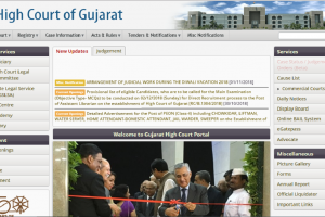 Gujarat High Court recruitment 2018: Applications invited for Grade IV posts, apply now at gujarathighcourt.nic.in