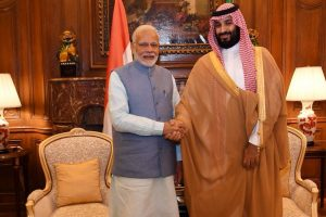 PM Modi meets Saudi crown prince on sidelines of G20 summit