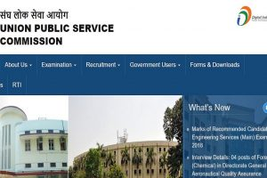 UPSC recruitment 2018: Applications invited for various posts, apply before December 13 at upsconline.nic.in