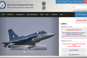 DRDO recruitment 2018: Applications invited for scientists posts, apply now at rac.gov.in