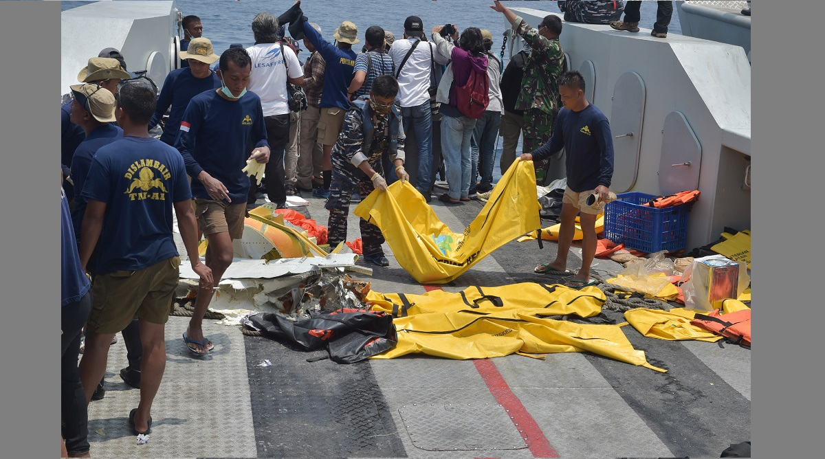 Lion Air jet crash, Flight Data Recorder, Black Box, Boeing 737Max jet