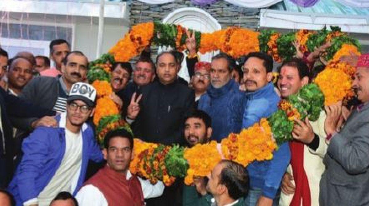 Jai Ram Thakur, Seraj Mandal Milan, Narendra Modi, heli-taxi service, Mandal Milan Programme, Seraj Vidhan Sabha