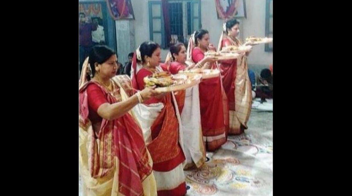 Kali Puja, Siliguri, Sabarimala Ayyappa Temple, Goddess Adha Kali, priest, Rabindra Sangeet