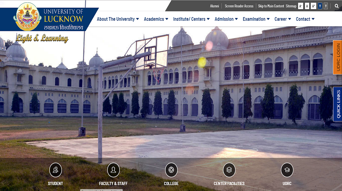 Lucknow University , Lucknow University examinations