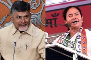 Chandrababu Naidu to meet Mamata today, to convince WB CM to join anti-BJP coalition