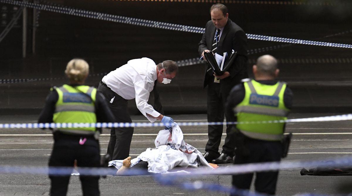 Melbourne knife attacker